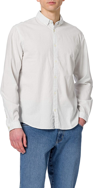 Tom Tailor Dobby Camisa para Hombre