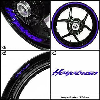 Stickman Vinyls Motorcycle Decal Gloss Blue Graphic Kit For Suzuki Hayabusa