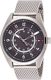 Tommy Hilfiger Mens Quartz Watch, Analog Display and Stainless Steel Strap 1791370