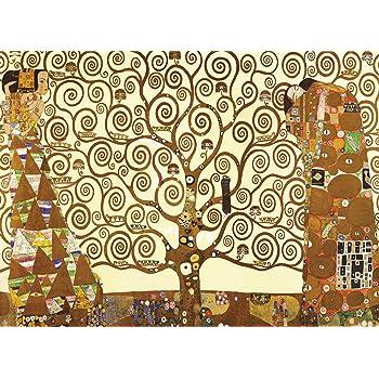 "Tree of Life by Gustav Klimt - 18"" x 24"" Laminated Poster - Classic Fine Art Print (LAMINATED, 18"" x 24"")"