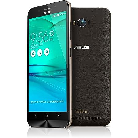 【国内正規品】ASUSTek ZenFone Max (SIMフリー/Android5.0.2 /5.5inch /デュアルmicroSIM /LTE /5,000mAh)(2GB/16GB) (ブラック) ZC550KL-BK16