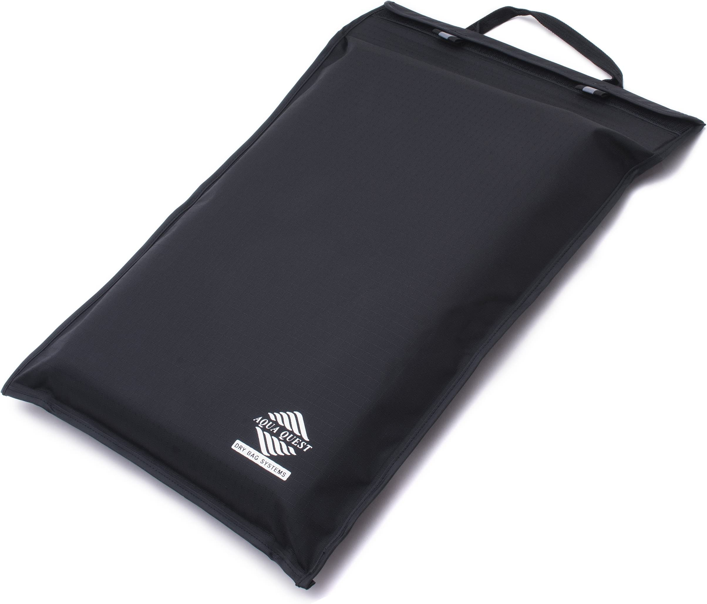Aqua Quest Storm 13 - 100% Waterproof Laptop Case – 13 inch, Lightweight, Durable, Fast & Easy to Use, Versatile - Black, Dry Bag Computer Sleeve