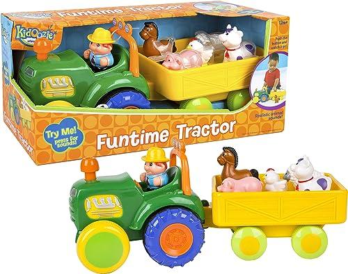 garantizado I-Play Kidoozie Funtime Tractor Tractor Tractor  marca de lujo