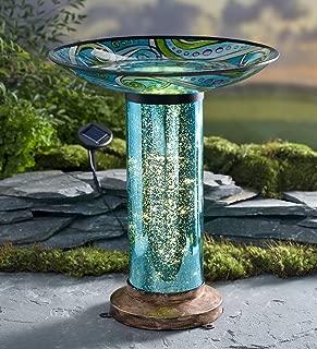 bird baths glass