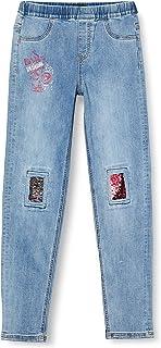 Desigual Denim_Agua Pantalones Casuales para Niñas