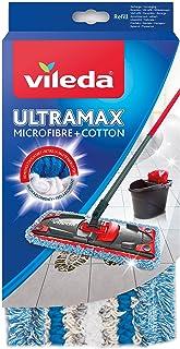 Vileda Ultramax–Mopa–microfibra y algodón