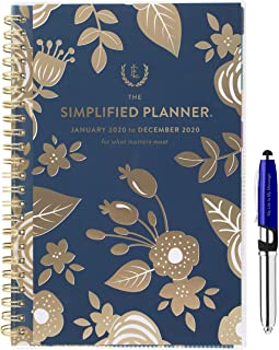 Emily Ley 2020 Weekly/Monthly Agenda Planner 5 1/2
