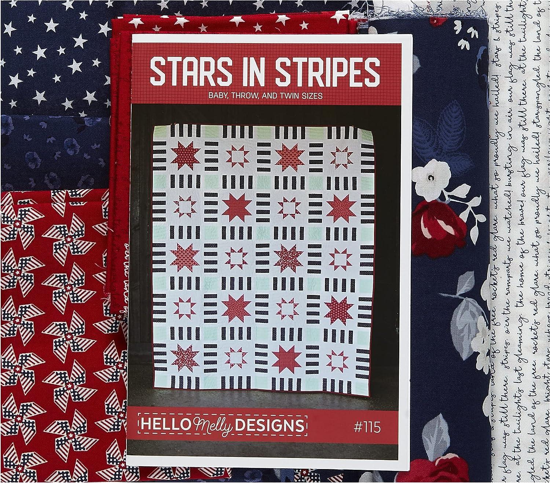 Riley Blake Stars in Stripes Max 75% OFF Kit Quilt Max 71% OFF