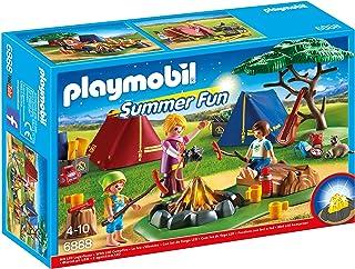 Playmobil Campamento de Verano-6888 Playset, Multicolor,