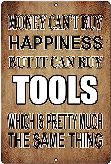 Rogue River Tactical Funny Mechanic Shop فروشگاه قلع فلزی تزیین دیواری Man Cave Bar ابزار خوشبختی پول