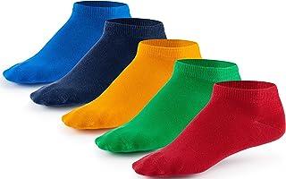 10 Paar Sneaker Socken von Mat & Vic's   Cotton classic schwarz weiß jeans blau grau grün rot rosa pink lila braun beige...