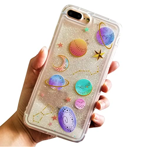 huge sale 344cf ebb32 iPhone 7 Plus Moon and Star Cases: Amazon.com