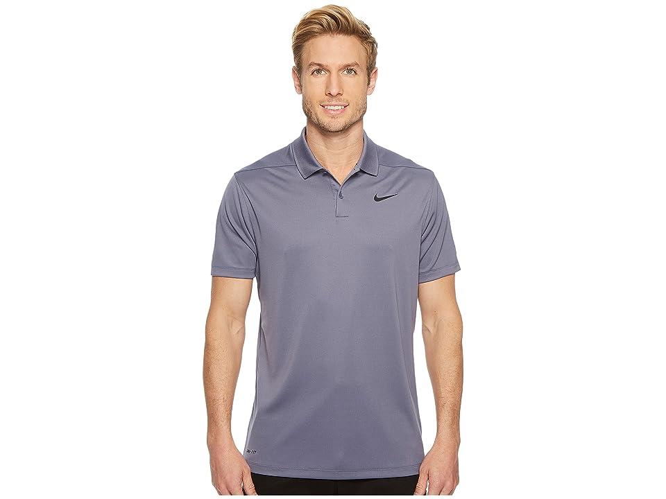 Nike Golf Dri-FITtm Victory Polo (Light Carbon/Black) Men