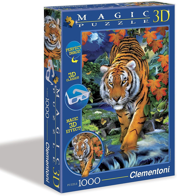 Clementoni  On The Prowl  Magic 3D Puzzle (1000 Piece)