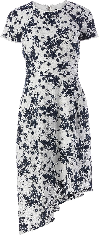 Karl Lagerfeld Paris Women's Asymmetrical Hem Dress
