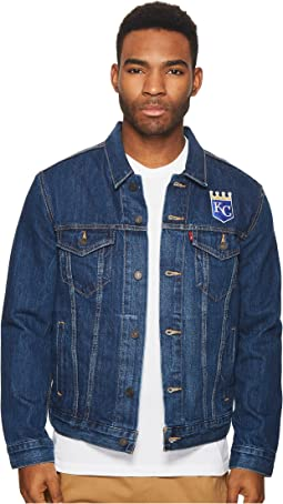 Levi's® Mens Kansas City Royals Denim Trucker