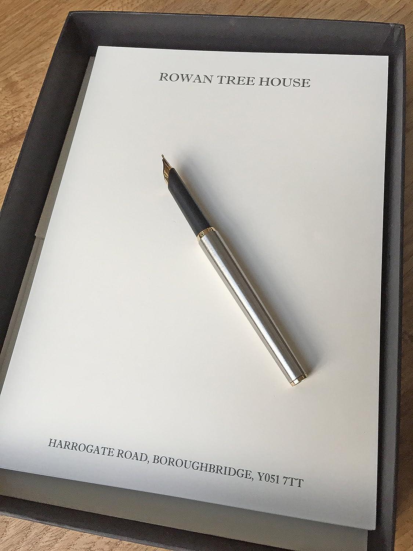 Personalisierbar Stationery Qualität Schreibpapier Exklusive Geschenkverpackung. Sie die Anzahl der Blätter für Ihren Schreib-Set (12,18 oder 36) Ivory (Cream) B0165S6IW4 | München