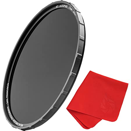 Breakthrough Photography 82mm X2 6-Stop Fixed ND Filter for Camera Lenses, Neutral Density Professional Photography Filter, MRC8, H-K9L Glass, Nanotec, Ultra-Slim, Weather-Sealed
