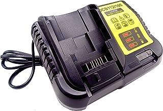 DCB112 Chargeur de rechange 2 A pour batteries Li-ion Dewalt 10,8 V 14,4 V 18 V 20 V pour Dewalt DCB120 DCB140 DCB141-XJ DCB182 DCB183 DCB200 DCB204 DeWALT DCB200