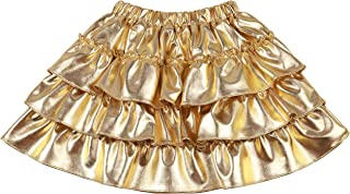 kids gold skirt