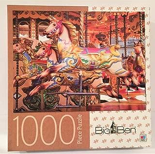 Big Ben Carousel Horses 1000pc Puzzle
