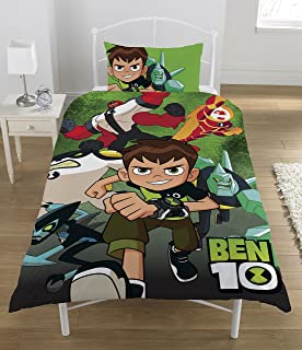 Ben 10 Single Duvet Set, Polyester-Cotton