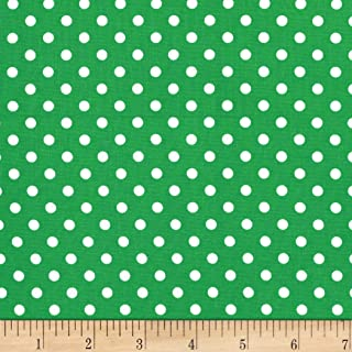 Michael Miller Dumb Dot Clover, Fabric by the Yard