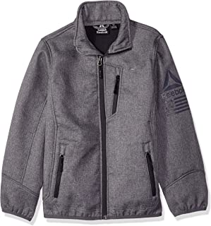 Reebok Boys' Active Softshell Jacket with Sleeve Detail