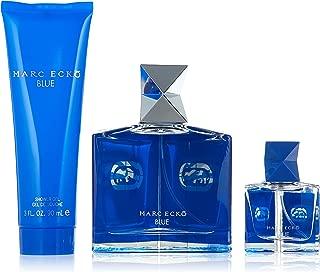 Marc Ecko Ecko Blue Men Giftset (Eau De Toilette Spray, Eau De Toilette Spray, Hair and Body Wash)