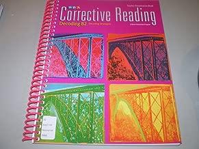SRA Corrective Reading: Decoding B2 Decoding Strategies, Teacher Presentation book