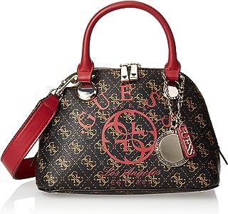 Guess Satchel Bag for Women- Brown