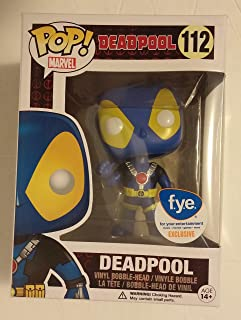 Funko Marvel X-Men Deadpool Pop Vinyl Figure Blue and Yellow