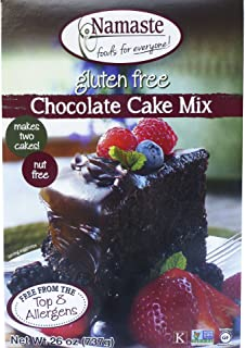 NAMASTE FOODS MIX CAKE CHOC WFGFDF 26OZ