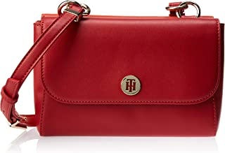 Tommy Hilfiger Crossbody for Women-Haute Red Mix