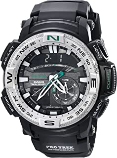 Casio Mens PRG-280-1CR PRO TREK Analog-Digital Display Quartz Black Watch
