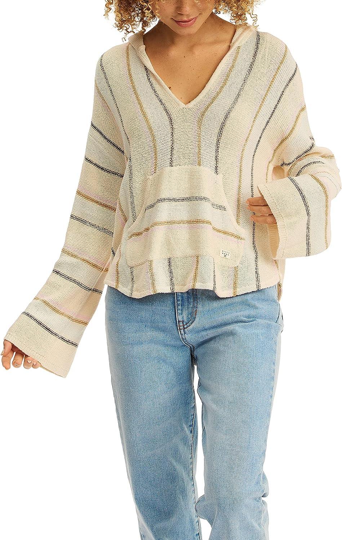 Billabong Women's Bonfire Hooded Baja Sweater