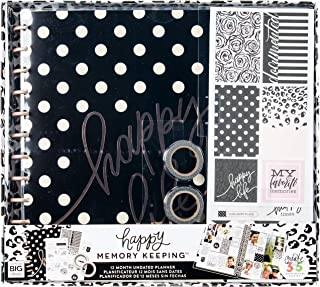 Me & My Big Ideas Life Happy 12-Month Big Planner Box Kit