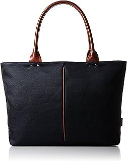 [オティアス] トートバッグ ナイロン×ポリエステル混紡ツイル+ヌメ革 日本製