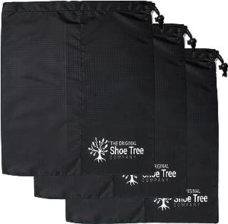 Premium Drawstring Shoe Bag 3-Pack