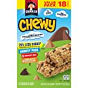 Quaker Chewy Granola Bars, 25% Less Sugar Variety Pack, 18 ct