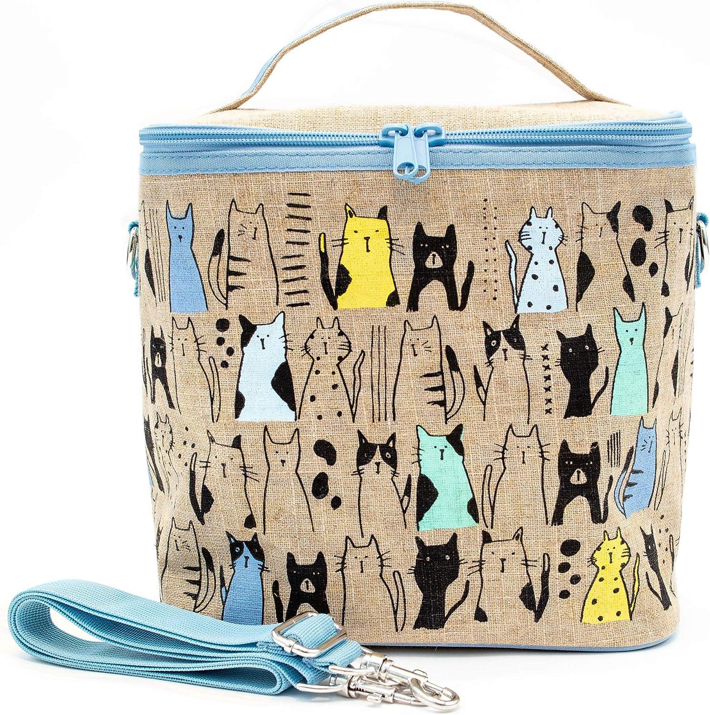 SoYoung Large Cooler Bag - Raw Linen Eco-Friendly Retro-Inspir Max 52% OFF Max 49% OFF