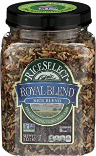 RiceSelect Royal Blend, Texmati White, Brown, Wild, and Red Rice, 21 Ounce (1 Count)