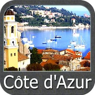 Cote d'Azur GPS Map Navigator