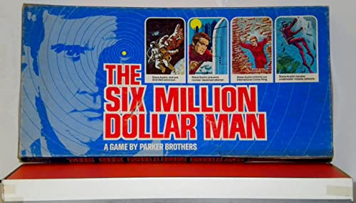 ORIGINAL VINTAGE 1975 THE SIX MILLION DOLLAR MAN ANTIQUE BOARD GAME-COLLECTIBLE TOY by Games