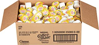 NESTLE COFFEE-MATE Coffee Creamer, Hazelnut, liquid creamer singles, 180 Count (Pack of 1)