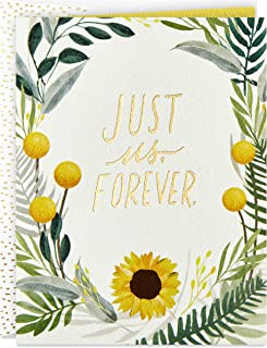 Hallmark Good Mail Anniversary Card or Wedding Day Card (Just Us Forever)