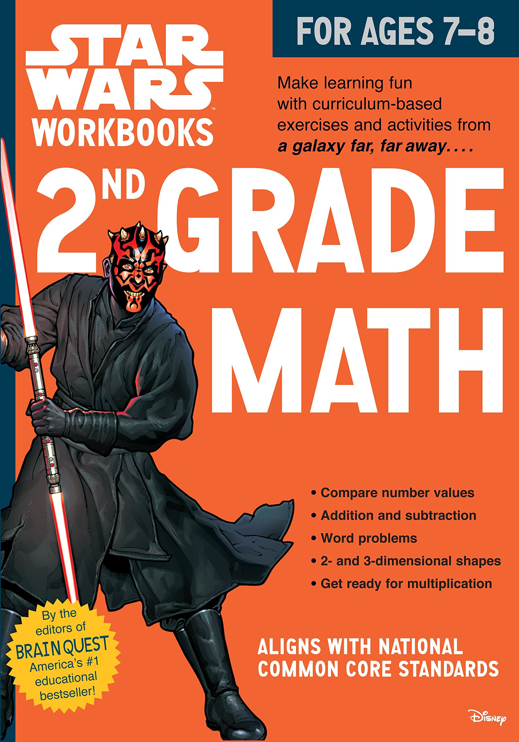 Image OfStar Wars 2nd Grade Math, For Ages 7-8