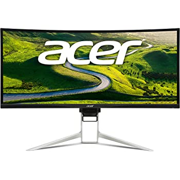 """Acer Gaming Monitor 37.5"""" Ultra Wide Curved XR382CQK bmijqphuzx 3840 x 1600 1ms Response Time AMD FREESYNC Technology (Display, HDMI & MHL Ports)"""