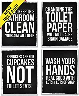 Best Bathroom Chalkboard Quotes of 2019 - Top Rated & Reviewed