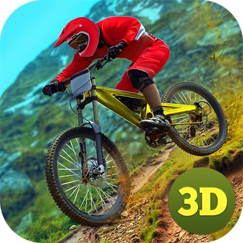 MTB DownHill Mountain Bike Racing Fever: BMX Bicycle Stunt Riding Trial